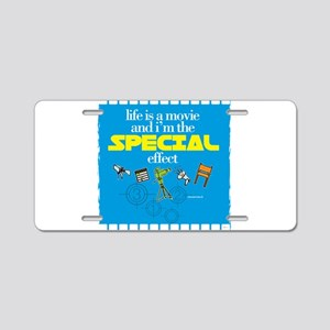 MOVIE - special effect Aluminum License Plate