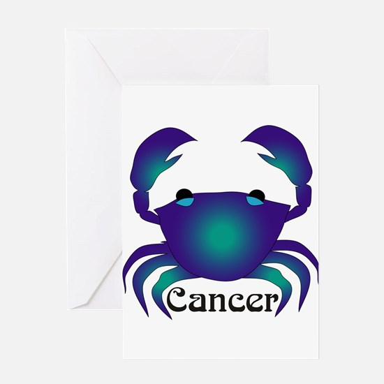 Whimsical Cancer Greeting Card