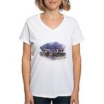 The Woods V Women's V-Neck T-Shirt