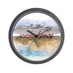 The Woods IV Wall Clock