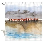 The Woods IV Shower Curtain