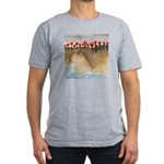 The Woods IV Men's Fitted T-Shirt (dark)
