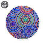 Blue Orange Retro Pattern 3.5