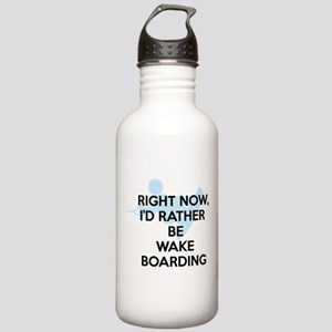 Rather be wakeboarding Stainless Water Bottle 1.0L