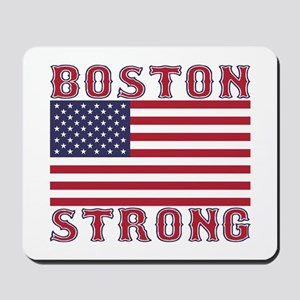BOSTON STRONG U.S. Flag Mousepad