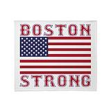 Boston strong Fleece Blankets