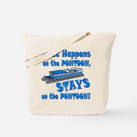 On The Pontoon Tote Bag