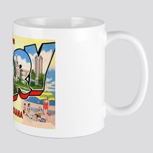 Gary Indiana Greetings Mug