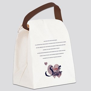 spousecreed Canvas Lunch Bag