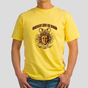 Medusa Yellow T-Shirt