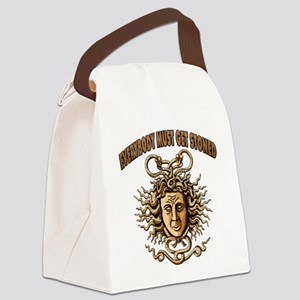 Medusa Canvas Lunch Bag