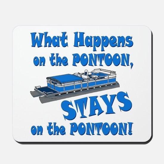 On The Pontoon Mousepad