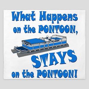On The Pontoon King Duvet