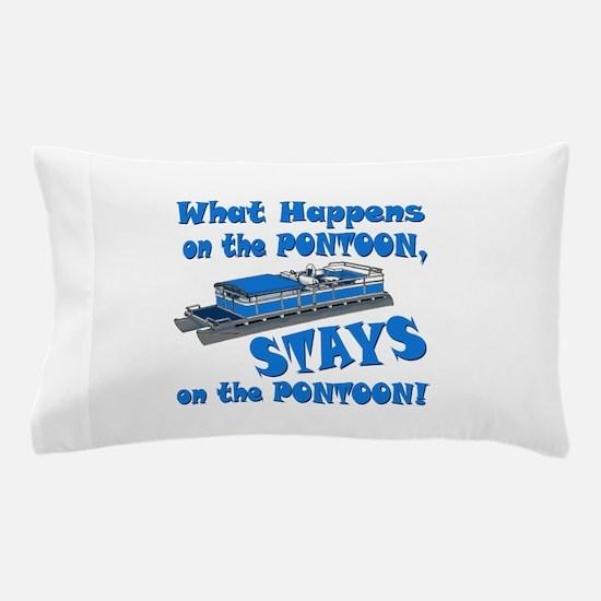 On The Pontoon Pillow Case