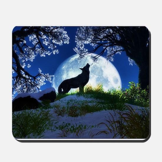 Howling Wolf Mousepad