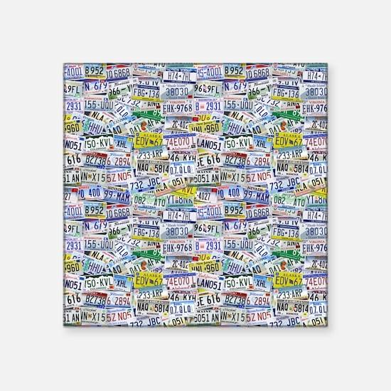 Fully Licensed Square Sticker 3 x 3
