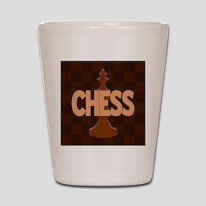 King of Chess Shot Glass