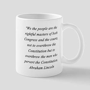 Lincoln - Congress Courts 11 oz Ceramic Mug