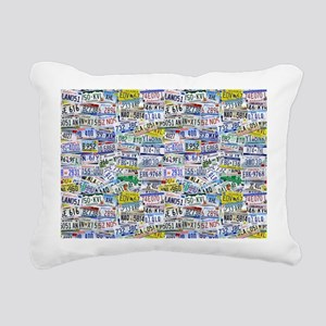 Fully Licensed Rectangular Canvas Pillow