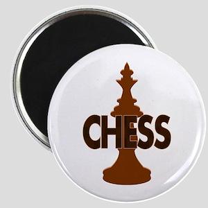 Chess King Magnet