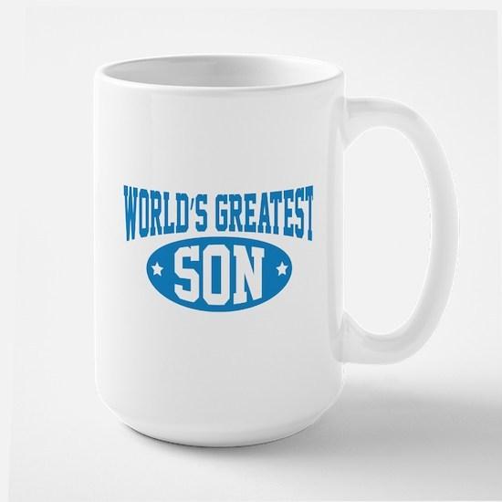 World's Greatest Son Large Mug