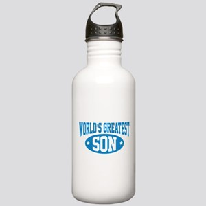 World's Greatest Son Stainless Water Bottle 1.0L