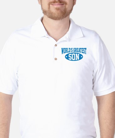 World's Greatest Son Golf Shirt