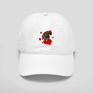 Love Dachshunds Baseball Cap
