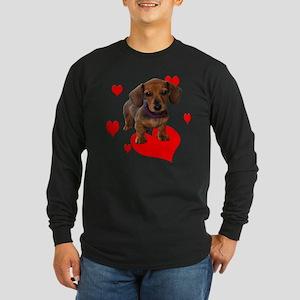 Love Dachshunds Long Sleeve T-Shirt