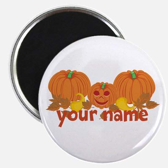 """Personalized Halloween 2.25"""" Magnet (100 pack)"""