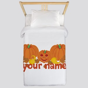 Personalized Halloween Twin Duvet