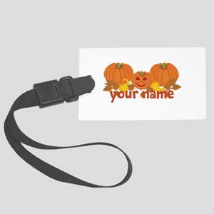 Personalized Halloween Large Luggage Tag