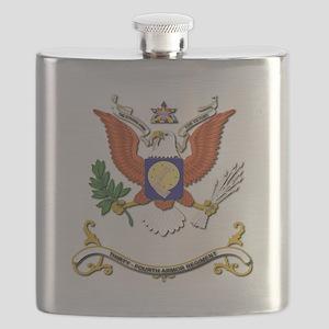 34th Armor Regiment Flask