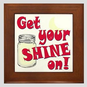 Get your Shine on Framed Tile