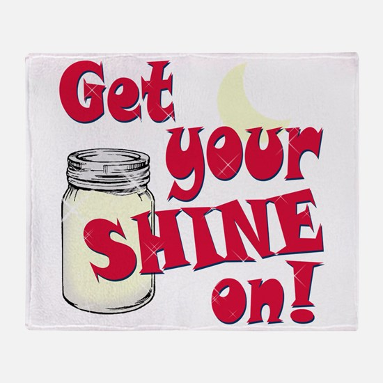 Get your Shine on Throw Blanket