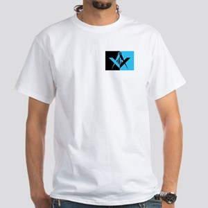 Masonic Rectangle White T-Shirt