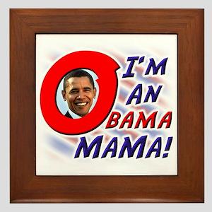 Obama Mama Barack Obama For P Framed Tile