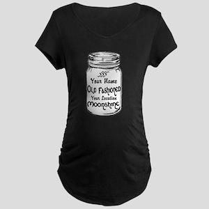 Custom Moonshine Maternity T-Shirt