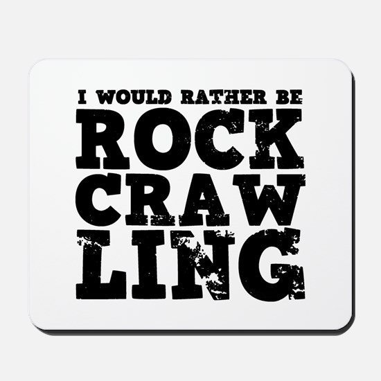 'Rock Crawling' Mousepad