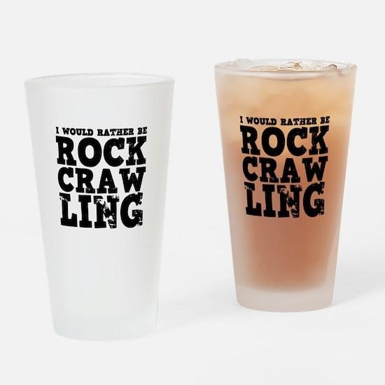 'Rock Crawling' Drinking Glass