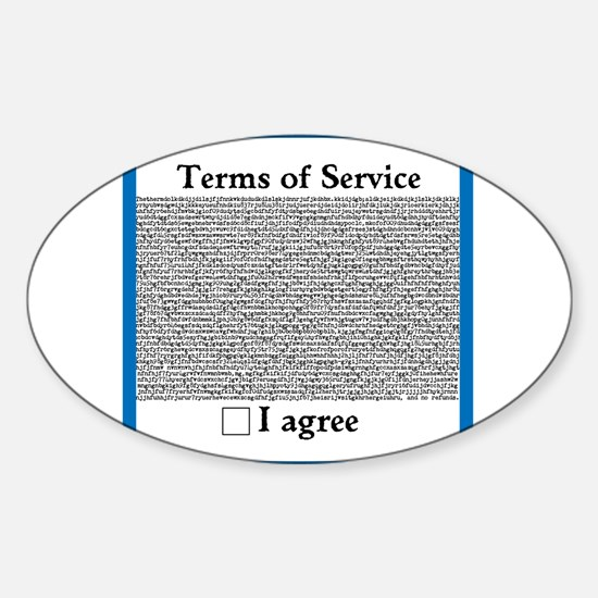 Terms of Service Decal
