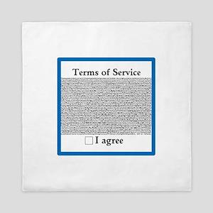 Terms of Service Queen Duvet