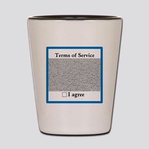 Terms of Service Shot Glass