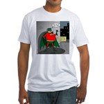 Aging Superheros Fitted T-Shirt