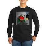 Aging Superheros Long Sleeve Dark T-Shirt