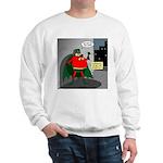 Aging Superheros Sweatshirt