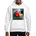 Aging Superheros Hooded Sweatshirt
