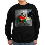 Aging Superheros Sweatshirt (dark)