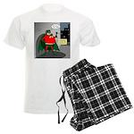 Aging Superheros Men's Light Pajamas