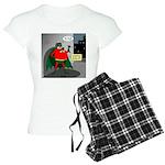 Aging Superheros Women's Light Pajamas